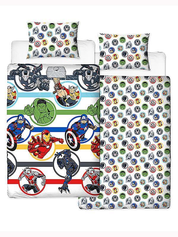 Marvel Avengers Strong Duvet Cover and Pillowcase Set