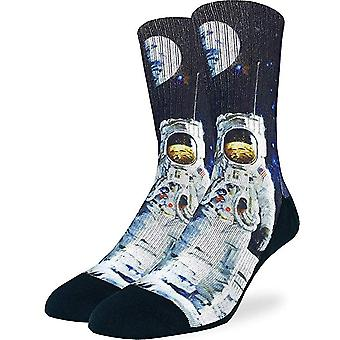Good Luck Sock - Men's Active Fit - Apollo Astronaut (8-13) 4160