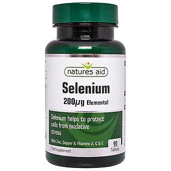 Nature's Aid Selenium 200ug (with Zinc and vitamins A; C & E) Tablets 90 (130830)