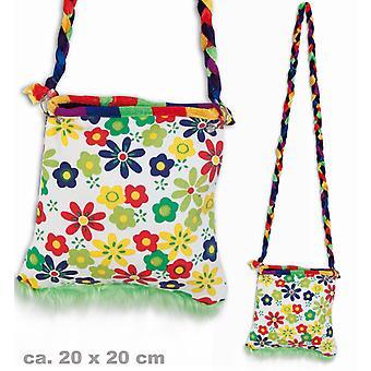 Hippie-Tasche 60er Jahre Blumen Umhängetasche