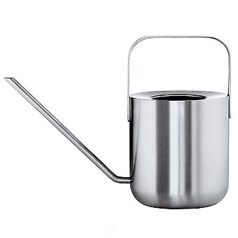 Casting can stainless steel matt 1 litre capacity