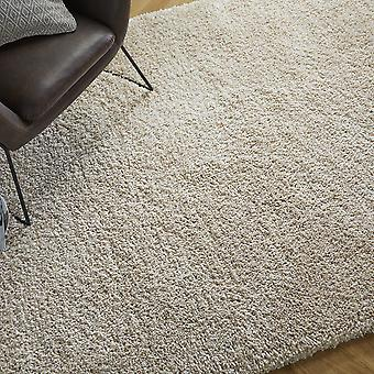 Brilliance Sparks Shaggy Rugs In Beige
