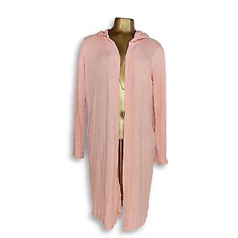 Anybody Women's Sweater Loungewear Hacci Wrap Cardigan Pink A345302