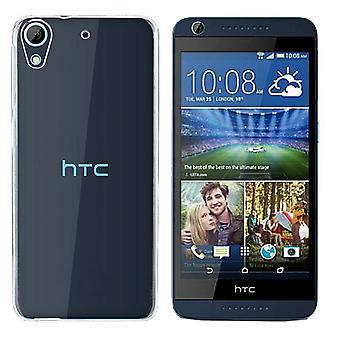 HTC الرغبة 628 سيليكون شفافة القضية - CoolSkin3T