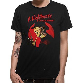 A Nightmare On Elm Street Adults Unisex Freddy Krueger Pose Design T-Shirt