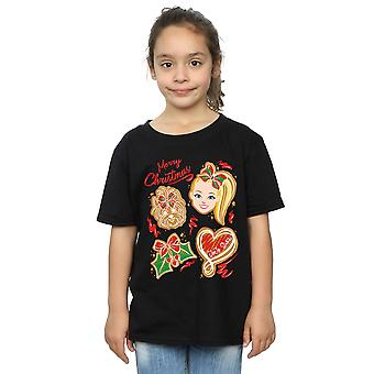T-shirt joJo Siwa Girls Christmas Gingerbread