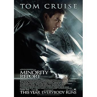 Minority Report (Double Sided International Style B) (2002) Original Cinema Poster