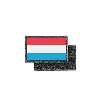 Patch ecusson prints luxembourg flag badge