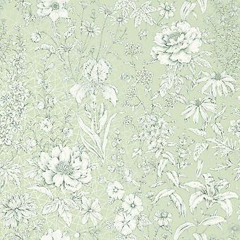 Papel de parede floral de Lavana Holden