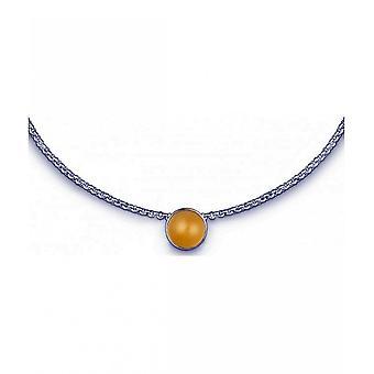 QUINN - Necklace - Women -Silver 925 - Gemstone - Citrine - 27080911
