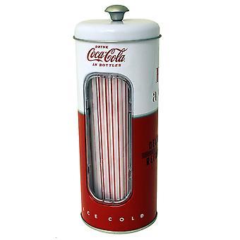 Titolare di paglia di coke con 50 cannucce