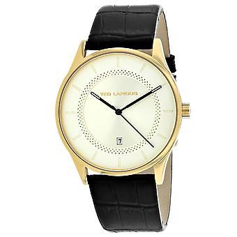Ted Lapidus Men-apos;s Classic Black Dial Watch - 5131905