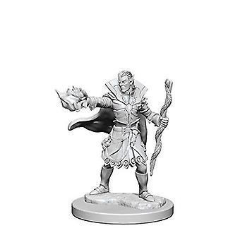 Pathfinder Deep Cuts Unpainted Miniatures Elf Male Sorcerer (Pack of 6)