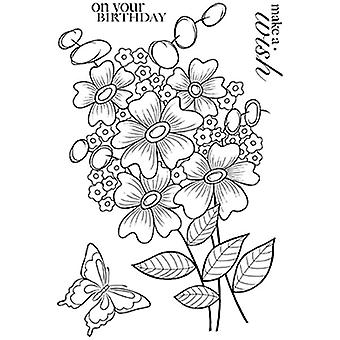 Woodware Clear Stamps - Bold Blooms Beatrice
