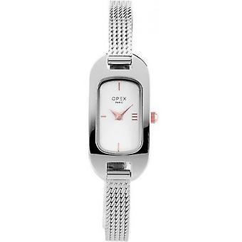 Opex OPW009 Watch - BLER Grey Steel Bracelet Grey Steel Silver Steel Women