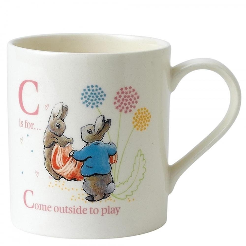 Beatrix Potter C Cotton Tail And Peter Mug