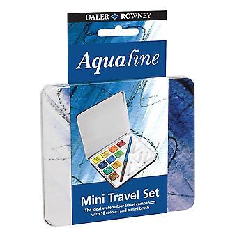 Daler Rowney Aquafine akvarell Mini Travel Set