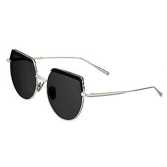 Bertha Callie Polarized Sunglasses - Black/Black