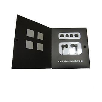 In ear headphones Antonio Miró (3.5 mm) 147016/Black