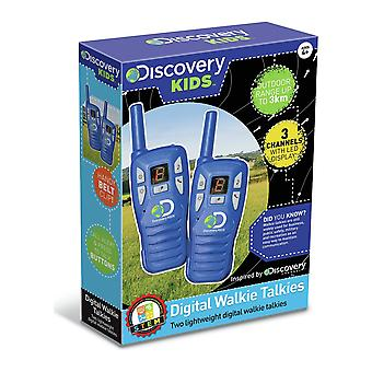 Discovery Digital Walkie Talkies Range Up To 3KM Ages 4 Years+ - Wind Designs