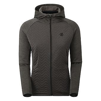 Durf 2b Womens Foutloze Hybride Full Zip Hooded Sweatshirt