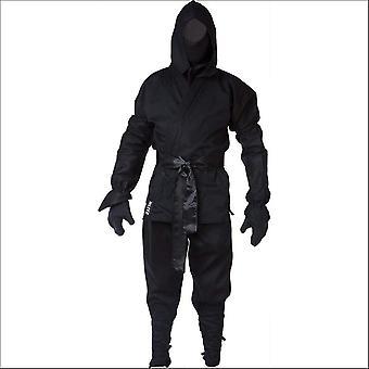Blitz Kinder Ninja Anzug - schwarz