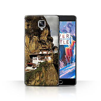 STUFF4 Case/Cover for OnePlus 3/3T/Paro Taktsang/Inner Peace
