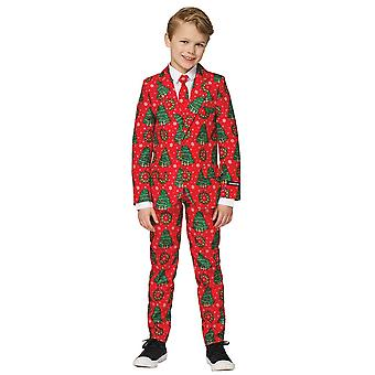 Christmas Red Suit Child