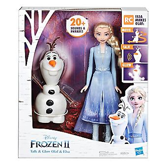 Frozen 2 Talk And Glow Olaf And Elsa