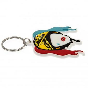 Birds Of Prey Harley Quinn Outline Keyring