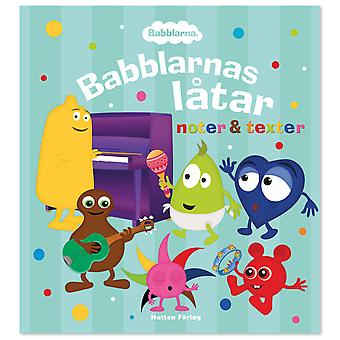 Babblarna - Babblarna songs sheet music & lyrics - Book hardcover
