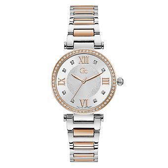 GC Y64001L1MF Spirit Ladycrystal Two Tone Wristwatch