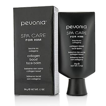 Pevonia Botanica Spa tar hand om honom Collagen Boost Face Balm 50ml/1,7 oz