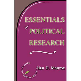Essentials of Political Research by Monroe & Alan D.