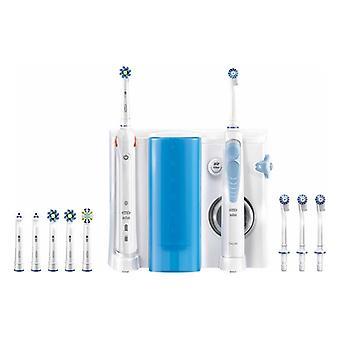 Elektrische Zahnbürste + Oral Irrigator Oral-B SMART5000+OXYJET Bluetooth Weiß
