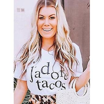 J'adore tacos graphic tshirt