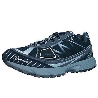 Berghaus Limpet faible Womens Tech Trail Running formateurs / chaussures - noir