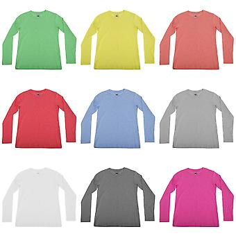 Russell Childrens/Boys Long Sleeve HD T-Shirt