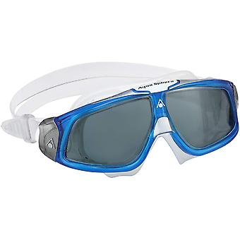 Aqua Sphere Seal 2.0 Swimming Goggle Mask - Smoke Lens - Blue