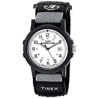 Timex expeditie Fullsize Camper White Dial horloge (T49713)