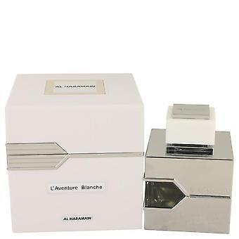 L'Aventure Blanche Eau De Parfum Spray (Unisex) przez Al-Haramain 3,3 uncji Eau De Parfum Spray