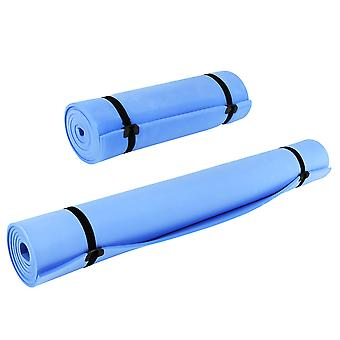 Charles Bentley Closed Cell Eva Sleeping Camping Mat Roll Bed-Single & Double Added Insulation-Leichtgewicht