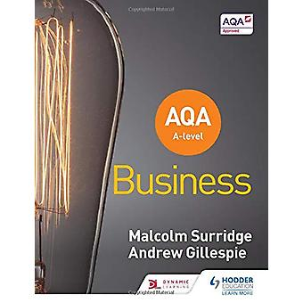 AQA A-level Business (Surridge and Gillespie) by Malcolm Surridge - 9