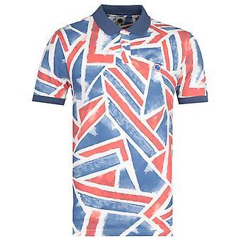 Pretty Green Union Jack Print Polo Shirt