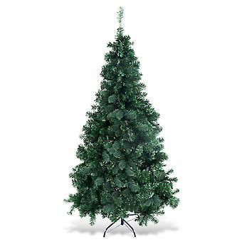 6FT Christmas Tree With Stand Holiday Season Indoor Outdoor Festival Decoration