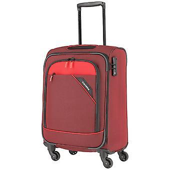 travelite Derby Handbagage Trolley S, 4 wielen, 55 cm, 41 L, rood