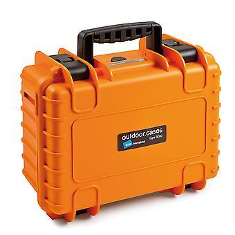 B&W Outdoor Case Typ 3000, Orange