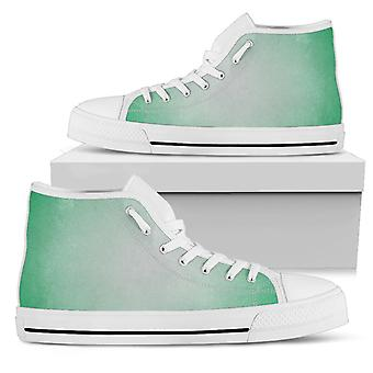 High Top Shoes | Green Ombre