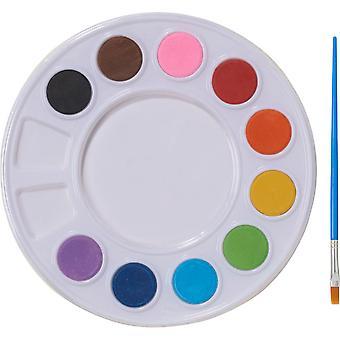 Opsommingsteken Splash Water kleur Set