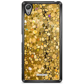 Bjornberry Peel Sony Xperia X - Stained Glass Gold